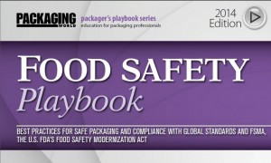 "New edition of Packager's Playbook Series titled ""Food Safety"""